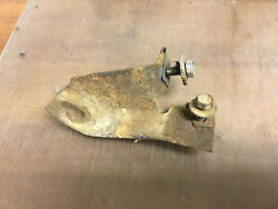 1964 1/2 1965 1966 Ford Mustang Rear Bumper Guard Lh Mounting Brkt. And Bolts Used