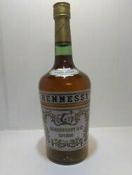 Vntage Hennessy Cognac Advertising Collectable Empty Glass Dummy Bottle