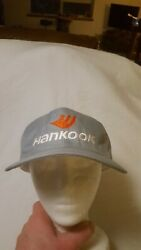 Hankook Tires HAT Snapback Adult One Size Gray With embroidered logo