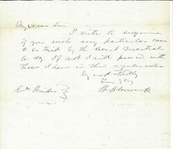 Confederate Gen. John Henry Winder Wants Court Martial Held In Sequence