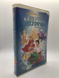 Banned Cover Of The Little Mermaid Vhs, 1989, Diamond Edition W Banned Cover