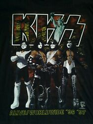 Kiss Alive 1996 Xl Madison Square Garden Only Tour Shirt New