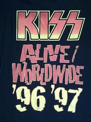 Kiss Alive 1996 97 Tour T Shirt Xl New Never Washed Never Worn
