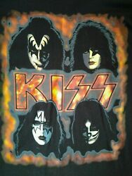 Kiss Alive 1996 Tour T Shirt Xl New Never Washed Never Worn Original Members