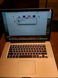 Apple Macbook Pro 15.4 2.2ghz I7 - Mjlq2ll/a May, 2015, Silver 1tb Nvme Ssd