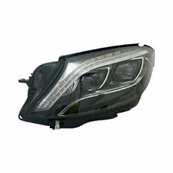 For Mercedes-benz S550 14-17 Driver Side Replacement Headlight Lens And Housing