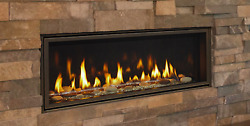 Majestic Echelon Ii 36 Direct Vent Natural Gas Fireplace W/ Glass Media And Remote