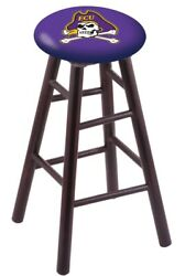 Holland Bar Stool Co. Maple Counter Stool In Dark Cherry Finish With East Car...