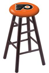 Holland Bar Stool Co. Maple Counter Stool In Dark Cherry Finish With Philadel...
