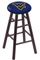 Holland Bar Stool Co. Maple Counter Stool In Dark Cherry Finish With West Vir...