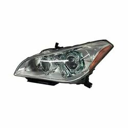 For Infiniti M35h 12-13 In2502162 Driver Side Replacement Headlight Brand New