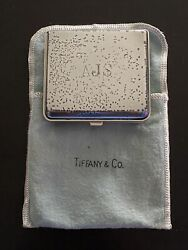 Collectible Vintage And Co Sterling Silver Case Sharp Calculator El-8009s