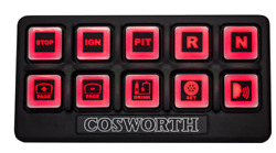 Cosworth Electronics Rubber Switch Panel - 10 Switches