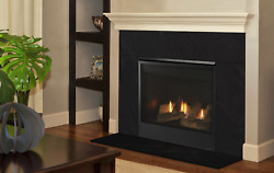 Majestic Mercury 32 Direct Vent Propane Gas Fireplace W/ Standing Pilot And Embers