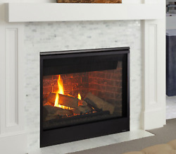 Majestic Meridian 36 Direct Vent Gas Fireplace With Intellifire Touch Ignition