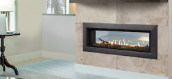 Majestic Echelon Ii 36st Multi-sided Gas Fireplace With Remote And Glass Media