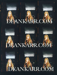 Stevie Nicks Everyday Proof Sheet Printed At Pro Lab From Negative Signed Karr