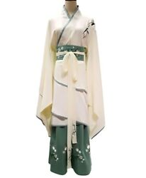 Chinese Hanfu Traditional Costumes Embroidery Oriental Chinese Style Princess