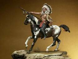 Tashunko Witko Crazy Horse Oglala Resin Painted Toy Soldier Pre-sale   Museum