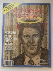 Rare Michael Man Who Invented Junk Bonds National Review Magazine Mike Milken