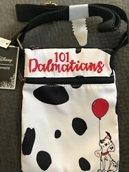 Disney 101 Dalmatians Puppy Dog Passport Crossbody Bag by Loungefly NWT $15.99