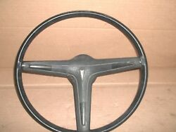 68 To 72 Pontiac Steering Wheel And Horn Button Original Gm