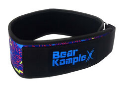 Bear Komplex 4 Straight Weightlifting Belt For Powerlifting, Squats And More
