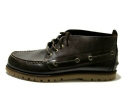 Sperry Top Sider Mens A/o Mini Lug Chukka Boots Brown Leather Size 9 M