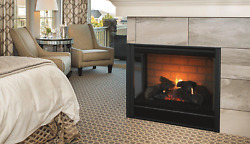 Majestic 36 Multi-sided Corner Direct Vent Natural Gas Fireplace With Ipi System