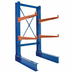 New Cantilever Rack Md Single Sided Unit, 8'h X 24 Arms, 5,300 Lb Cap
