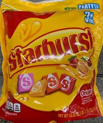 NEW PARTY SIZE STARBURST ORIGINAL FRUIT CHEWS CANDY 50 OZ 1.4KG RESEALABLE BAG
