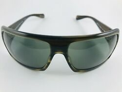 New Oliver Peoples Polarized Sunglasses Conway Ot Olive Tortoise 69-16-112 Wcase