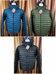 NWT Men's Authentic COLUMBIA Jacket Oyanta Hooded Trail Thermal Coil Puffer
