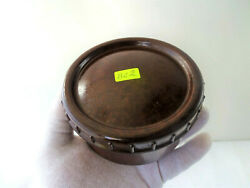 Vintage Military Wwii Ww2 Round Bakelite Box , Food Container Bc2