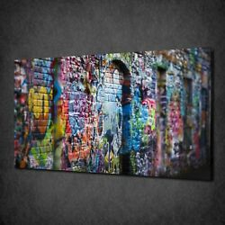 Graffiti Canvas Picture Print Wall Hanging Art Home Decor Free Delivery