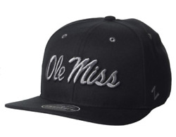 Zephyr Ncaa Mississippi Old Miss Rebels Adjustable Caps - Various Sizes And Colors