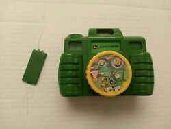 Learning Curve John Deere Toy Camera With Sound And Light - For Parts Or Repair