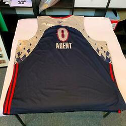 Gilbert Arenas Authentic 2007 All Star Game Agent Zero Wizards Jersey