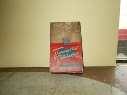 Vintage Thermostat Retainers Auto Parts Counter Top Store Display Cabinet