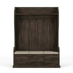 COCOA CCA Large Lincoln Hall Stand Bramble 26096 Solid Wood Special Order