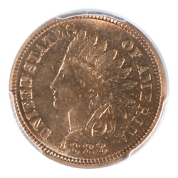 1883 Indian Head Cent Pcgs Ms66rd