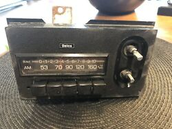 Vintage Delco Am Car Radio Made In Japan Classic 1960's Special Used