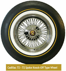 Cadillac Wire Wheel And Vogue Tire Package Truewire Brand Rear Wheel Drive Cads