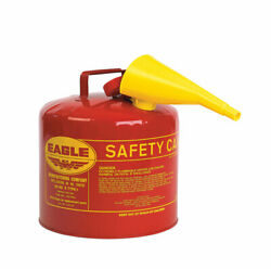 Safety Can Gas Mtl 5 Gal
