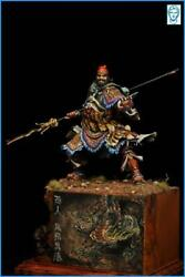 Zhang Fei Tin Painted Toy Soldier Pre-sale Miniature | Museum Quality
