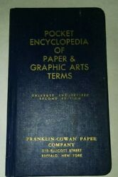 Vintage Encyclopedia Of Paper And Graphic Arts Terms 2nd Edition Pocket Size