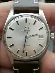 Omega Geneve Date Automatic Vintage Cal 565 24 Jewls 1960s Like A New One