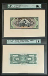 Nqc Pick S125fp And S125bp Lempiras Full Set Front And Back - Sgu 67 And 68 Epq-proof
