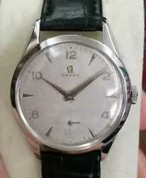 Omega Vintage Cal 266 Hand Winding Small Seconds 1950s Good Condition