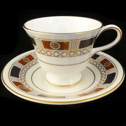 Marlborough By Coalport Cup And Saucer New Never Used Bone China Made In England